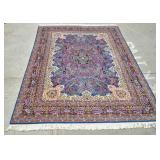 Kirman carpet with floral design