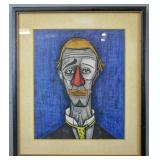 Manner of Bernard Buffet
