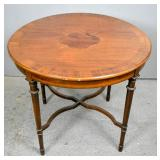 Georgian style mahogany circular side table