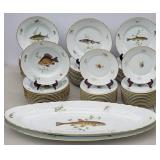 Ginori porcelain fish set