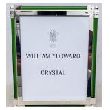 William Yeoward crystal table picture frame