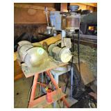 2 Bench Grinders, Buffer, Craftsman Drill Press