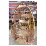 Hanging Chair, Kids Rocker and Footstool