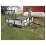 5x8 Trailer with Drop Down Gate