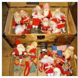 Vintage Santas and Elves