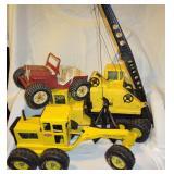 Nylint Crane Truck, Tonka & Jeep