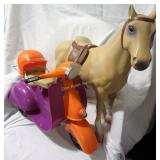 Toy Horse and American Girl Scooter