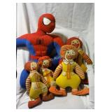Ronald McDonald Dolls, Spiderman