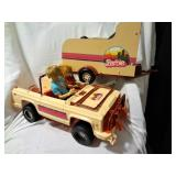 Barbie Jeep & Horse Trailer