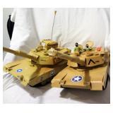 2 Plastic Tanks