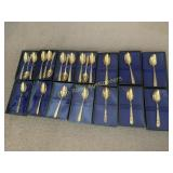 Rogers Presidential Gold Tone Spoons