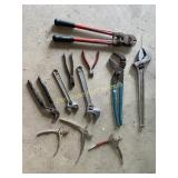 Wrenches, Bolt Cutters Etc