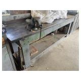 Work Bench and Vise