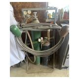 Acetylene Torch and Tank
