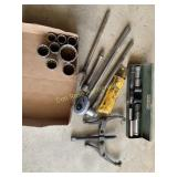 Gear Puller, Impact Tool and Socket Sets