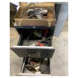 Cabinet and Power Tools