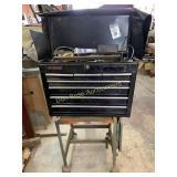Cart, Toolbox and Tools