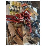 Chisels, Straps, Tool Belts Etc