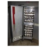 heated food transport cabinet