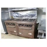 8 burner gas range