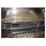 "48"" gas flat griddle"