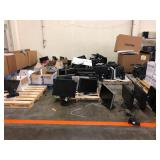 Assorted Monitors, Printers & Peripherals