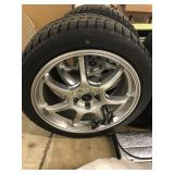 Mercedes C Class Winter Wheel and Tire Package