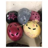 Five Bicycle Skateboard Helmets