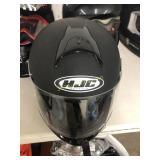 HJC Flat Black Motorcycle Helmet