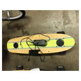 Striped ZBoard Electric Skateboard