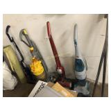 Dyson Vacuum and three others