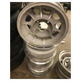 Vintage Nissan 4 Lug Wheels