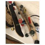 Three Skateboards
