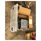 Box of Misc Car Parts
