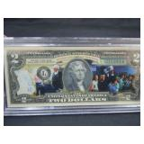#45 HURRICANE RELIEF $2.00 NOTE