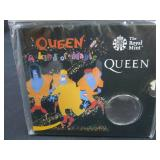 THE ROYAL MINT QUEEN COIN