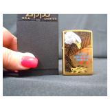 ZIPPO 831 EAGLE IN BOX BRASS