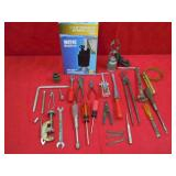 1/4 HP SUBMERSIBLE PUMP, MISC TOOLS