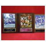 3 SPORTS RAMS PLAQUES
