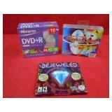 13 DVD - R DISC & PC GAME