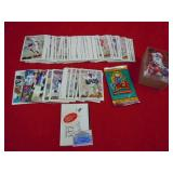 ASSORTED FOOTBALL CARDS