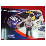 34 POSTERS 2002 JOHNSON & #48 CANDY CAR PLUS