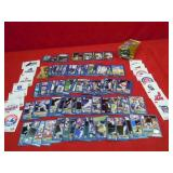 2001 ASSORTED TOPPS BASEBALL CARDS STICKERS