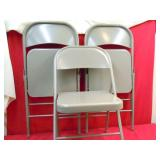 3 NEW COSCO FOLDING CHAIRS