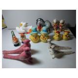 8 pairs of Salt & Pepper Shakers - Birds
