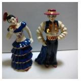 2 Ceramic Arts Studio pieces -  Dancers