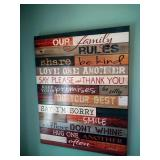 3 dining room wall hanging decor - PLEASE READ