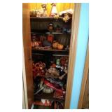 """huge Fall decor lot - contents of """"Pantry"""" -"""