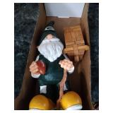 Green Bay Packers step stool, Packer gnome,