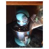 Kitchenaide Artisian stand mixer with attachments